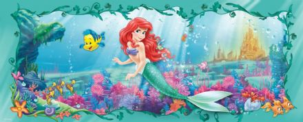 Panoramic wallpaper Disney Ariel Mermaid